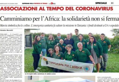 Camminiamo per l'Africa – La solidarietà non si ferma, anche a ranghi ridotti